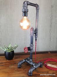 Industrial Rustic Lighting Industrial Style Table Lamp Lightings And Lamps Ideas Jmaxmedia Us