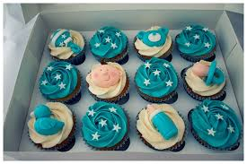 cupcakes for baby shower baby shower cupcakes boy on behance