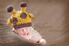 Crochet Newborn Halloween Costumes Baby Giraffe Hat Perfect Newborn Photo Prop Halloween Costume