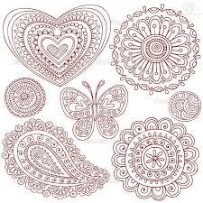 paisley pattern henna designs angela