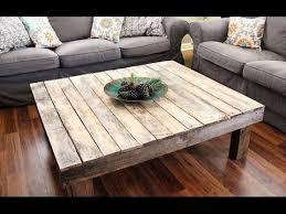 Diy Wood Coffee Table Ideas by 13 Diy Coffee Table Ideas Youtube