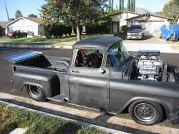Classic Chevy Trucks 1956 - 1955 chevy pickup pro street picture car locator