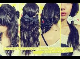 cool hair bows hair bows easy and simple ideas to wear bows