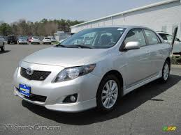 toyota corolla s 2009 for sale 2009 toyota corolla s in silver metallic 187387