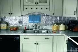 faux tin kitchen backsplash tin kitchen backsplash opstap info