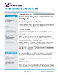 pathology laboratory medical coding and billing newsletter