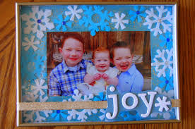 diy christmas picture frames i heart crafty things
