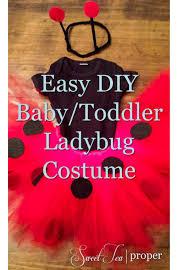 Cheap Newborn Halloween Costumes Easy Diy Baby Infant Ladybug Costume Cheap Halloween Costume