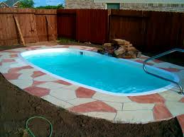 patio fascinating small pools shapes dimensions features and