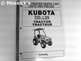 kubota l35 parts diagrams