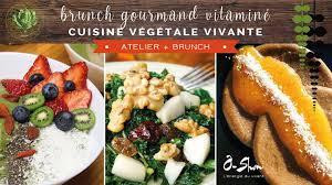 cours de cuisine dimanche cours de cuisine végétale vivante et brunch ô shun brest by