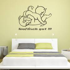 Bilder Schlafzimmer Amazon Wt481a Wandtattoo Teuflisch Gut Schlafzimmer Teufelchen Motiv