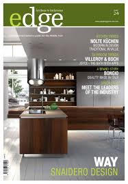 edge kitchen u0026 bathroom magazine issue 24 by amed issuu