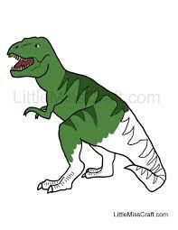 crafts tyrannosaurus rex coloring