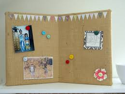 pin boards burlap covered pin board organize and decorate everything