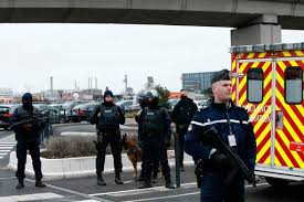 mma le mans siege social telephone soldiers shoot dead at airport amid ongoing