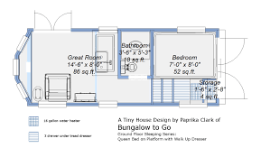 tiny home floor plan real time real tiny ground level bed in a tiny house
