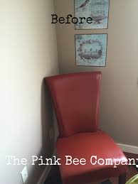 Painting A Leather Sofa Painting Leather U2014 The Pink Bee Company