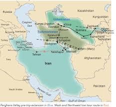 Aral Sea Map Central Asia U0027s Jewels Of The Silk Road Uzbekistan Turkmenistan