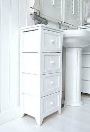 narrow cabinet with drawers freestanding furniture small bathroom cabinet with drawers narrow
