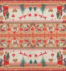 decoupage paper napkins of christmas with santa claus and reindeer