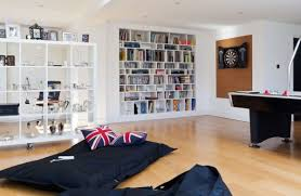 Decoration Cozy Nook In A Modern Family Room In London Using - Family room in london