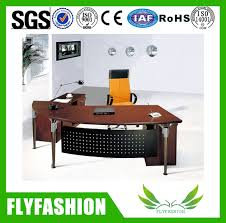 2016 latest design half oval office desk with wooden buy half