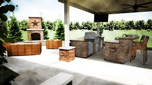 Outside Kitchen Ideas Outdoor Kitchen Design Grills Pizza Ovens Columbus Cincinnati