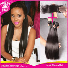 ali express hair weave human hair weave 3 bundle and closure 6a virgin brazilian straight
