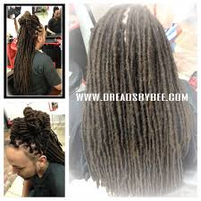 Human Hair Loc Extensions by Starting Dreads Ga Ca Nv Va Ny Fl Ct Nj Pa Braids By Bee