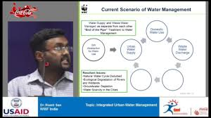 integrated urban water management by dr romit sen youtube