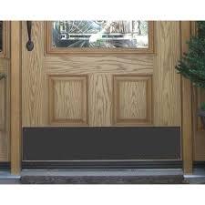 Exterior Door Kick Plate Brass Accents Custom Kickplate S Restorers