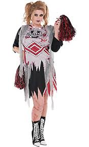 Halloween Costumes Zombies Zombie Cheerleader Costume Size Halloween Costume
