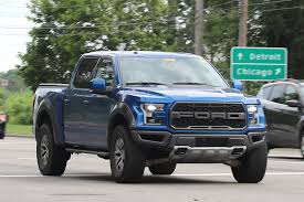 spy shots 2018 ford f 150 raptor spotted ahead of debut