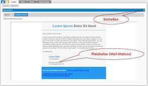 Vorlage Lorem Ipsum Worldsoft Business Suite