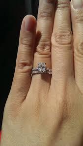 my wedding band help me my wedding band weddingbee floating diamond