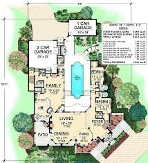 courtyard style house plans courtyard homes plans andreacortez info