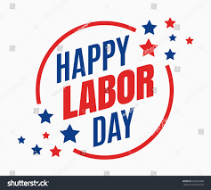 labor day united states celebrated stock vector 464923388