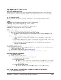 Resume Samples Housekeeping Jobs by Painter Painter Resume Sample Sample Painter Resume Sample Resume