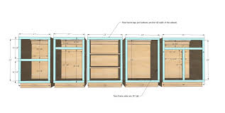 Diy Kitchen Cabinet Plans White Build A Frame Base Kitchen Cabinet Carcass Free