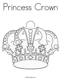 Princess Crown Coloring Page Murderthestout Princess Crown Coloring Page Free Coloring Sheets
