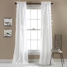 Ruffle Blackout Curtains Interiors Design Marvelous Kelly Green And White Curtains Mint