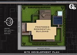 interesting site development plan of a house pictures best idea