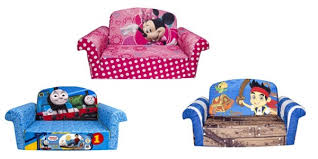 Mickey Mouse Fold Out Sofa Amazon Children U0027s Upholstered 2 In 1 Flip Open Sofa And Chairs As