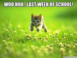 hoo last week of school