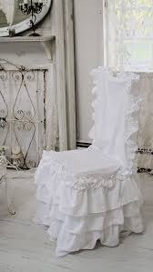 ruffled chair covers ruffle feminine bedding shabby style ruffled duvet cover pillow