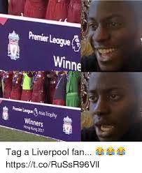 Premier League Memes - winne premier league asia trophy winners hong kong 2017 tag a