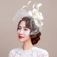 headdress for wedding fascinator bridal headpiece wedding veils with feather wedding