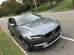 green station wagon volvo v90 cross country t6 awd review pictures business insider