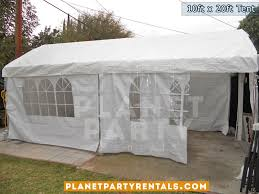 tent rentals los angeles party tent canopy rental 10ft x 20ft prices pictures tent